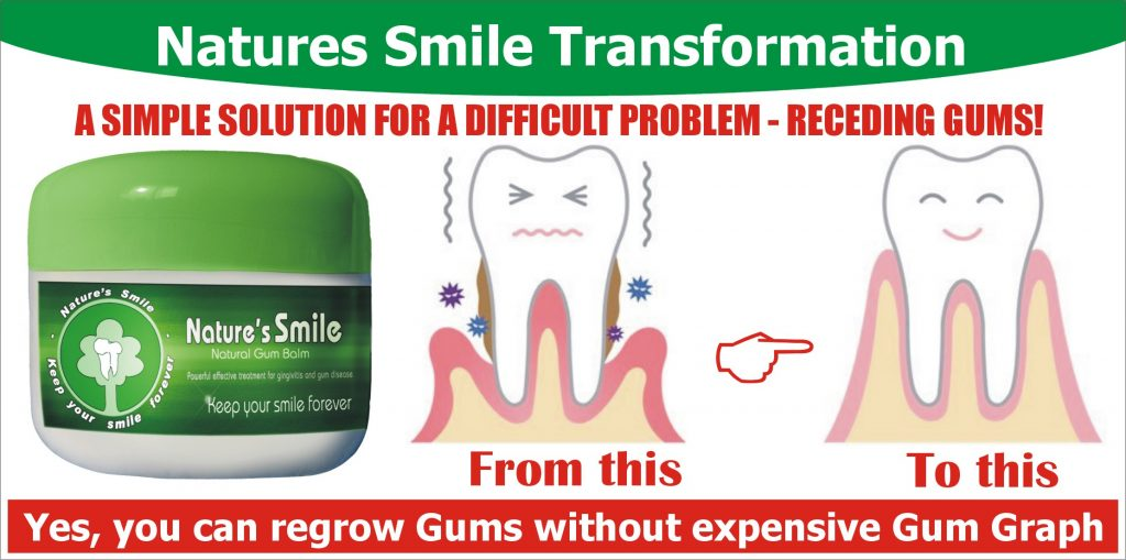 Reversing Receding Gums Is Possible