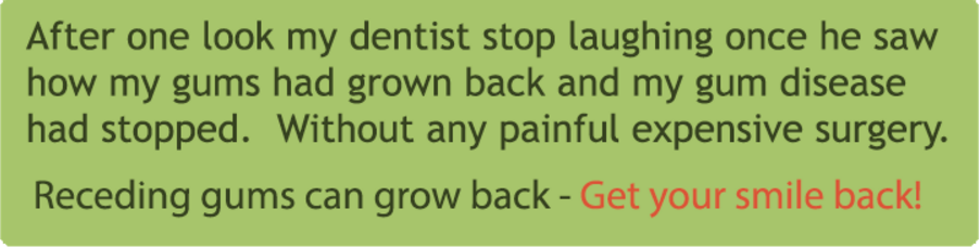 Repair Receding Gums Naturally